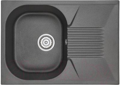 Мойка кухонная Granula GR-7002 (черный)