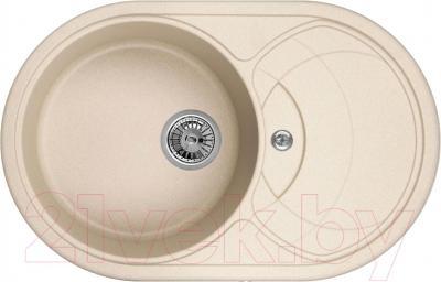 Мойка кухонная Granula GR-7801 (песочный) - общий вид
