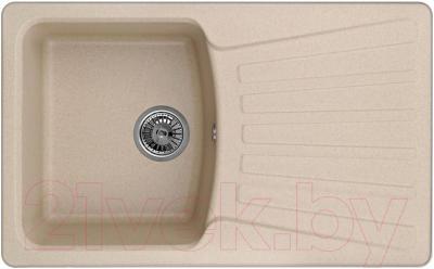 Мойка кухонная Granula GR-8001 (песочный) - общий вид