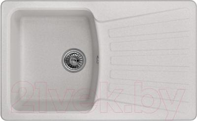 Мойка кухонная Granula GR-8001 (базальт) - общий вид