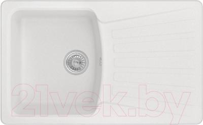 Мойка кухонная Granula GR-8001 (арктик) - общий вид