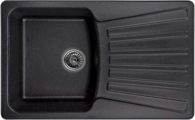 Мойка кухонная Granula GR-8001 (черный) - общий вид