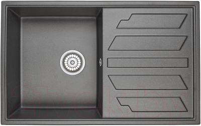 Мойка кухонная Granula GR-8002 (черный)