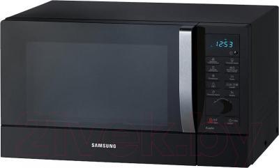 Микроволновая печь Samsung CE107MNR-B/BWT - вид в проекции