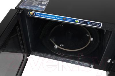 Микроволновая печь Samsung CE107MNR-B/BWT - с открытой дверцей