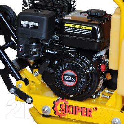 Виброплита Skiper С60 (Loncin 163cc) - мотор