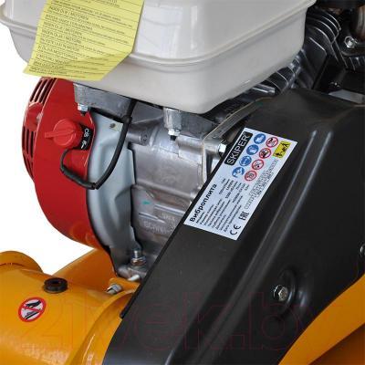 Виброплита Skiper С60 (Honda GX160) - вид сбоку