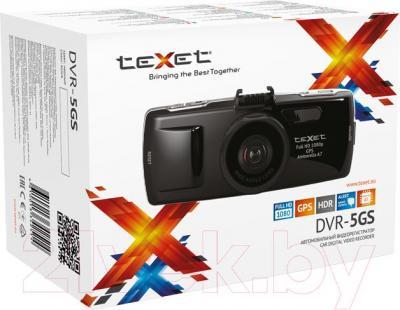 Автомобильный видеорегистратор TeXet DVR-5GS - упаковка