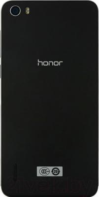 Смартфон Huawei Honor 6 (черный) - вид сзади