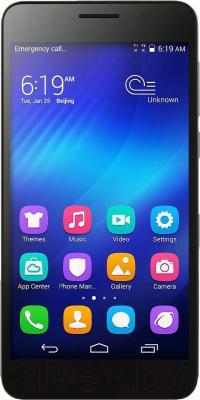 Смартфон Huawei Honor 6 (черный) - общий вид