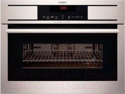 Электрический духовой шкаф AEG KM5840300M - общий вид