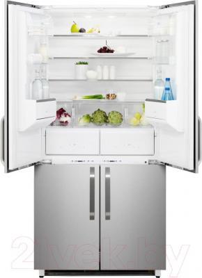 Холодильник с морозильником Electrolux ENX4596AOX - общий вид