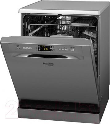 Посудомоечная машина Hotpoint LFF 8M121 CX EU - общий вид с открытой дверцей