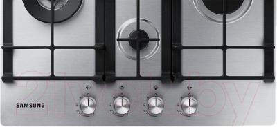 Газовая варочная панель Samsung NA64H3040BS/WT - панель управления