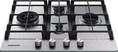 Газовая варочная панель Samsung NA64H3040BS/WT - вид спереди