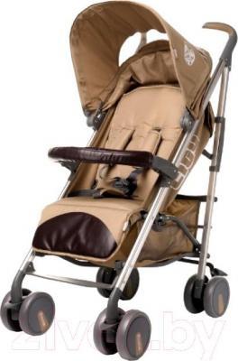Детская прогулочная коляска 4Baby City 2015 (бежевый) - общий вид