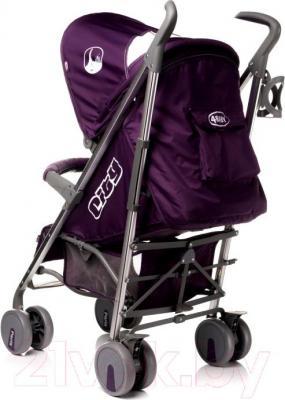 Детская прогулочная коляска 4Baby City 2015 (бежевый) - вид сзади