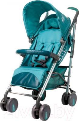 Детская прогулочная коляска 4Baby City 2015 (зеленый) - общий вид