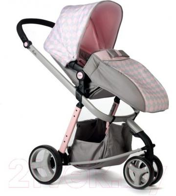 Детская универсальная коляска Anex Zana Putti 2 в 1 (розовый) - чехол для ног