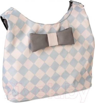 Детская универсальная коляска Anex Zana Putti 2 в 1 (розовый) - сумка