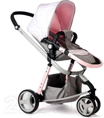 Детская универсальная коляска Anex Zana Putti 2 в 1 (розовый) - прогулочная