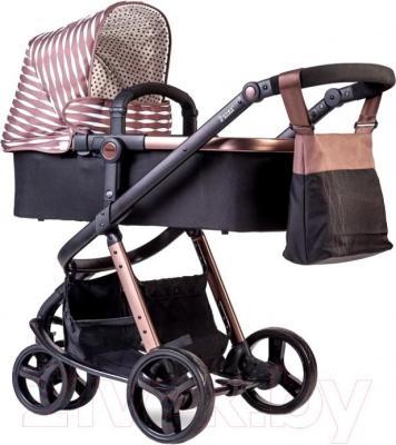 Детская универсальная коляска Anex Tempo 2 в 1 (коричневый) - общий вид