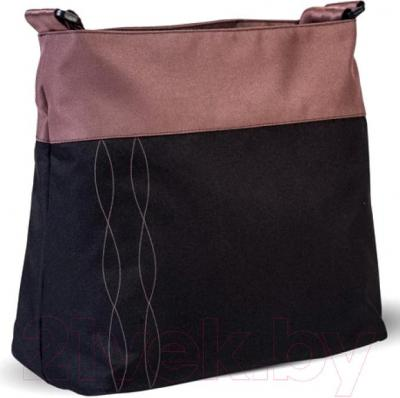 Детская универсальная коляска Anex Tempo 2 в 1 (коричневый) - сумка