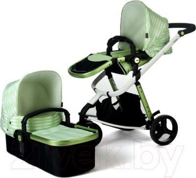Детская универсальная коляска Anex Tempo 2 в 1 (бирюзовый) - модули