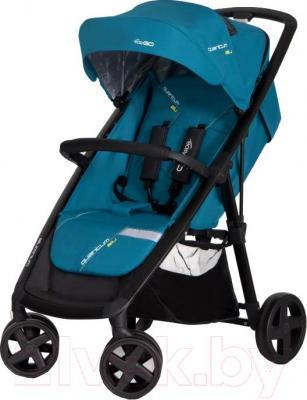 Детская прогулочная коляска EasyGo Quantum Black (Adriatic) - общий вид