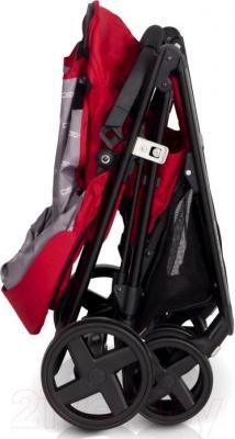 Детская прогулочная коляска EasyGo Quantum Black (Adriatic) - в сложенном виде