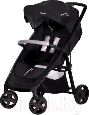Детская прогулочная коляска EasyGo Quantum Black (Carbon) - общий вид