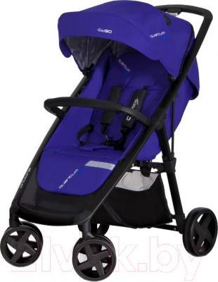 Детская прогулочная коляска EasyGo Quantum Black (Navy) - общий вид