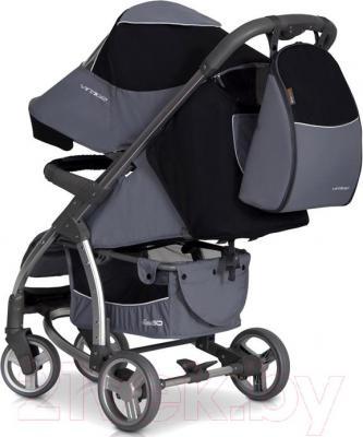 Детская прогулочная коляска EasyGo Virage (Sapphire) - вид сзади