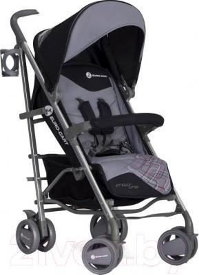 Детская прогулочная коляска Euro-Cart Crossline (Carbon) - общий вид
