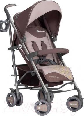 Детская прогулочная коляска Euro-Cart Crossline (Latte) - общий вид