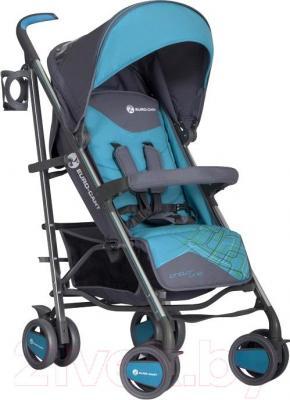 Детская прогулочная коляска Euro-Cart Crossline (Malachite) - общий вид