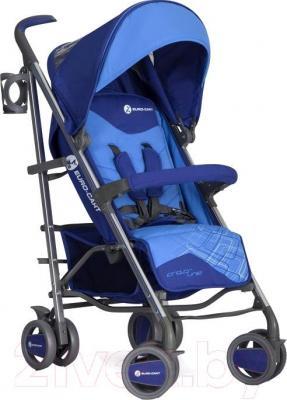 Детская прогулочная коляска Euro-Cart Crossline (Navy) - общий вид