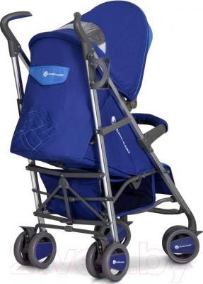 Детская прогулочная коляска Euro-Cart Crossline (Navy) - вид сзади