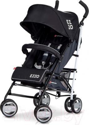 Детская прогулочная коляска Euro-Cart Ezzo (Anthracite) - общий вид