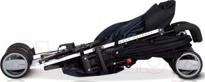 Детская прогулочная коляска Euro-Cart Ezzo (Anthracite) - в сложенном виде