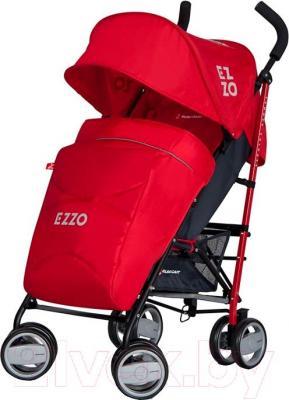 Детская прогулочная коляска Euro-Cart Ezzo (Scarlet) - общий вид