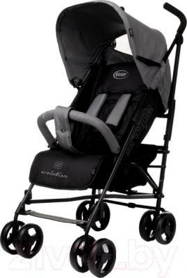 Детская прогулочная коляска 4Baby Shape 2015 (серый) - общий вид