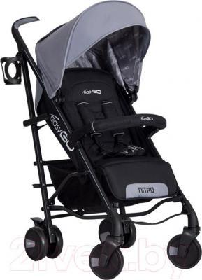 Детская прогулочная коляска EasyGo Nitro (Grey Fox) - общий вид