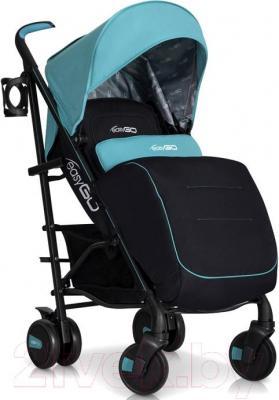 Детская прогулочная коляска EasyGo Nitro (Grey Fox) - чехол для ног