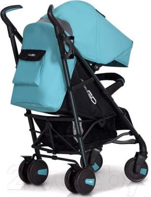 Детская прогулочная коляска EasyGo Nitro (Latte) - вид сзади