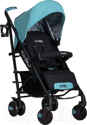 Детская прогулочная коляска EasyGo Nitro (Malachite) - общий вид