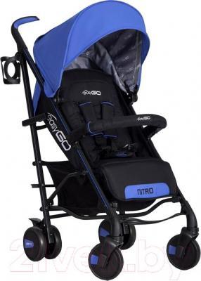 Детская прогулочная коляска EasyGo Nitro (Sapphire) - общий вид
