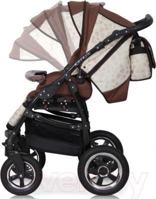 Детская универсальная коляска Expander Katrin 2 в 1 (107) - регулировка наклона