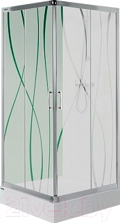 Душевой уголок Sanplast KN/TX5-80-S (матовое стекло с рисунком)