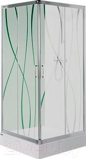 Душевой уголок Sanplast KN/TX5-90-S (матовое стекло с рисунком)